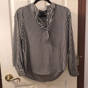 Ann Taylor striped blouse size SP - $25 OBO